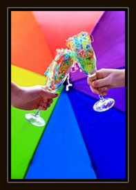 Champagne Glasses by D Sharon Pruitt on Flickr, Creative