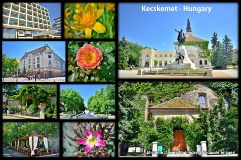 Kecskemet (pop about 100,000) is approximately 50 miles from Budapest.