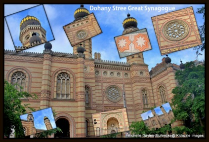 The Jewish Synagogue, Budapest, Hungary