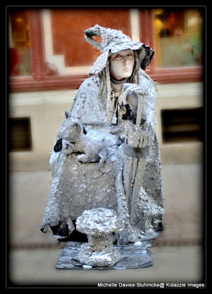 The silver witch, Budapest, Hungary