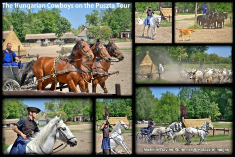 The Hungarian cowboys with their amazing horses.
